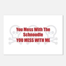 Mess With Schnoodle Postcards (Package of 8)