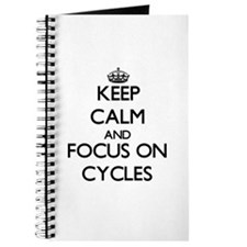 Keep calm cycle on Journal