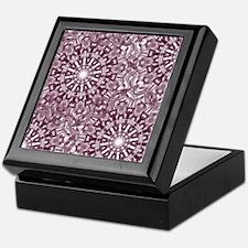 Classic snowflake Keepsake Box