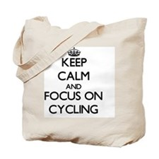 Funny I heart cycling Tote Bag