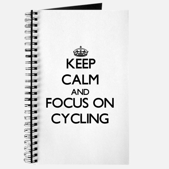 Unique Keep calm cycle Journal