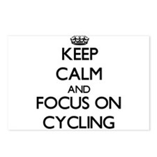 Cute I heart cycling Postcards (Package of 8)