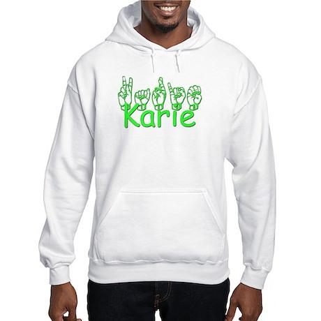 Karie Hooded Sweatshirt