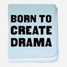 Unique Drama baby blanket