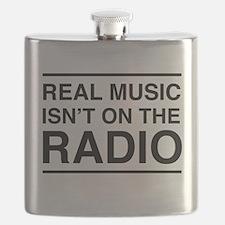 Real Music Isn't on the Radio Flask
