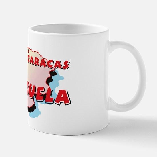 Venezuela Map Mug