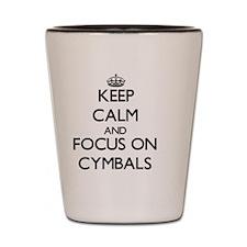 Cute Cymbals Shot Glass