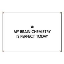 My Brain Chemistry Is Perfect Today Banner