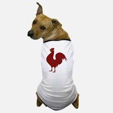 Red Rooster Dog T-Shirt