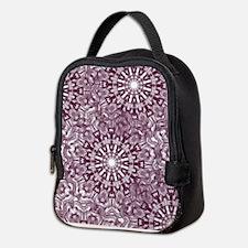 Cute Classic snowflake Neoprene Lunch Bag