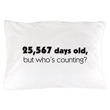 Cute 70th birthday Pillow Case