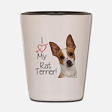 Rat Terrier Shot Glass