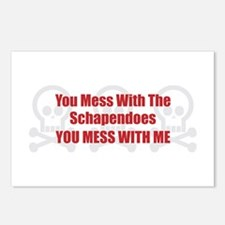 Mess With Schapendoes Postcards (Package of 8)