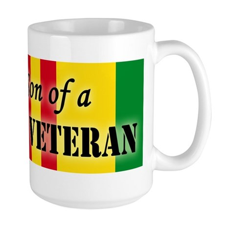 Proud Son of a Vietnam Vetera Large Mug