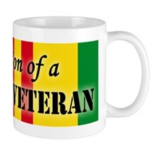 Proud Son of a Vietnam Vetera Small Mugs