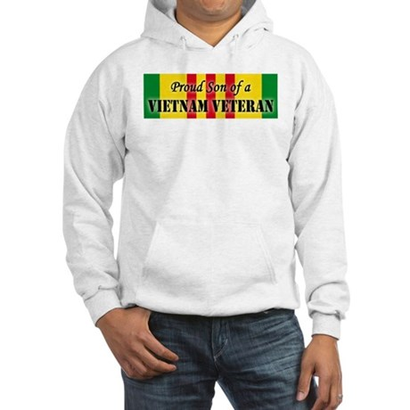 Proud Son of a Vietnam Vetera Hooded Sweatshirt