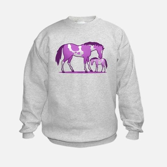 I Love Horse (Purple) Jumper Sweater