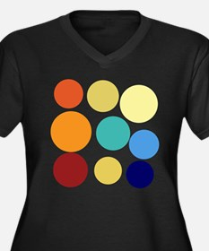 Back to School Huge Bright Colored Dots Pattern Pl