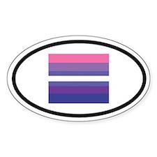 Transgender Equality Oval Decal