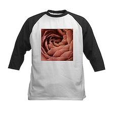 Grungy effect rose petals Baseball Jersey