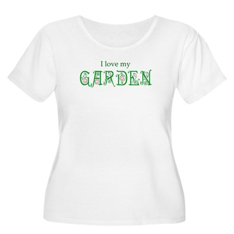 Love My Garden Women's Plus Size Scoop Neck T-Shir