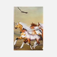 Wild Horses Herd Magnets