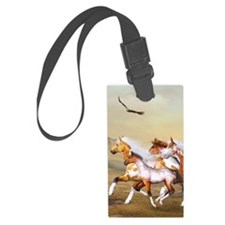 Wild Horses Herd Luggage Tag