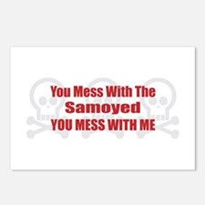 Mess With Samoyed Postcards (Package of 8)