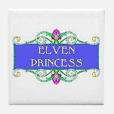 Elven Princess Tile Coaster