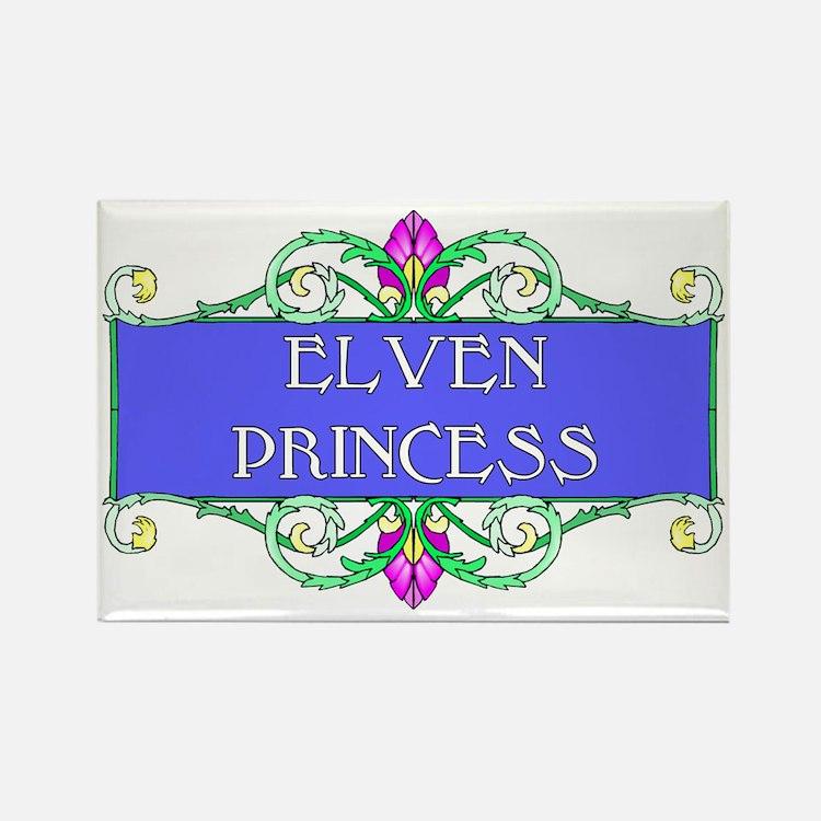 Elven Princess Rectangle Magnet