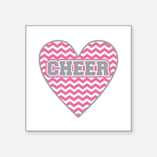 Cheer Heart Sticker