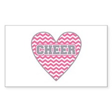 Cheer Heart Decal