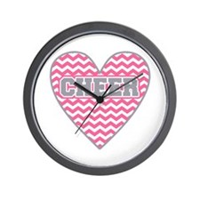 Cute Cheerleader Wall Clock
