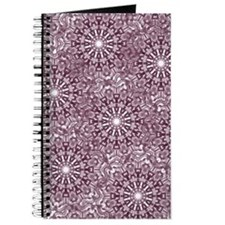 Cool Classic snowflake Journal