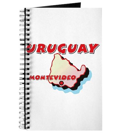 Uruguay Map Journal