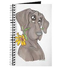 NBlu Flower pup Journal