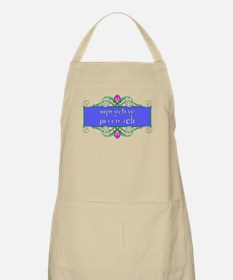 I'd rather be an elf BBQ Apron