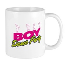 Boy Dance Party Mugs