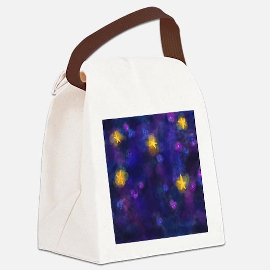 Cute Wishing angels Canvas Lunch Bag