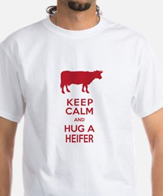 Keep Calm and Hug a Heifer T-Shirt