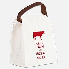 Cute Cows Canvas Lunch Bag