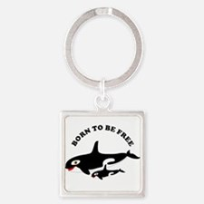 Free the whales Keychains