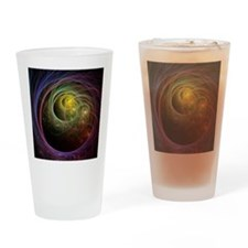 Space Fireworks Drinking Glass