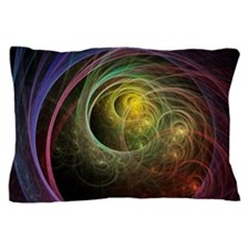 Space Fireworks Pillow Case