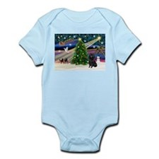 XmasMagic/Schipperke (#2) Infant Bodysuit