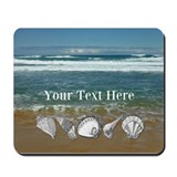 Beach theme Classic Mousepad