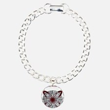 Personalizable Maroon Red Decorative Celtic Knot C