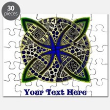 Customize this Symbolic Celtic Knot Doodle Puzzle