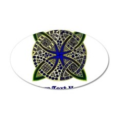 Customize this Symbolic Celtic Knot Doodle Wall Decal