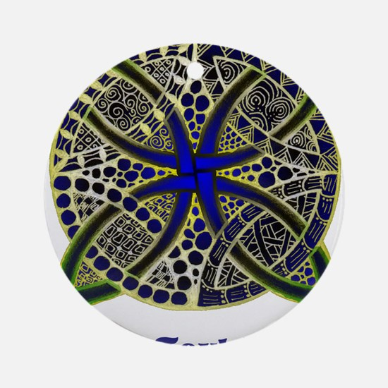 Customize this Symbolic Celtic Knot Doodle Ornamen